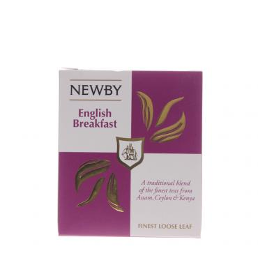 Чай черный Newby English Breakfast Листовой 100 гр