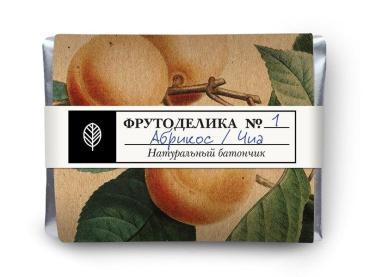 Батончик Frutodelica абрикос чиа