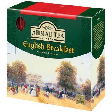 Чай Ahmad Tea Английски завтрак в пакетиках