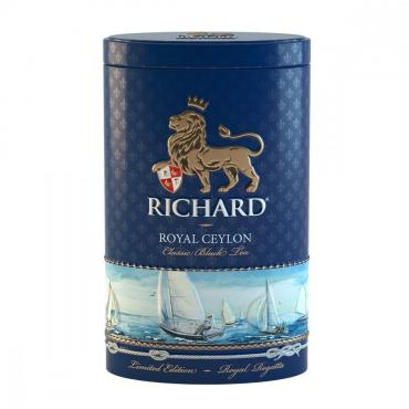 Чай Richard Royal Ceylon Regatta, черный листовой, 80 гр