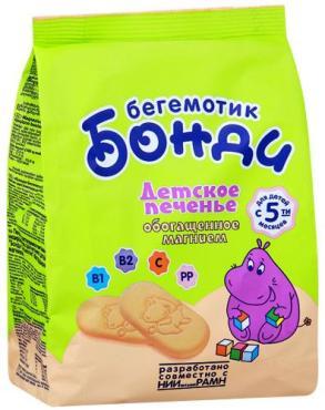 Печенье Бонди Бегемотик обогащенное магнием с 5-ти месяцев
