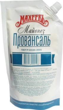 Майонез Махеевъ высококалорийный Провансаль 67% классический
