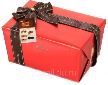 Конфеты Bind шоколадные набор Красная,110 гр., картон