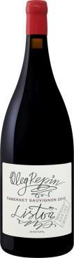 Вино 14 % столовое красное сухое каберне Репин Олег, Россия, 1,5 л., стекло