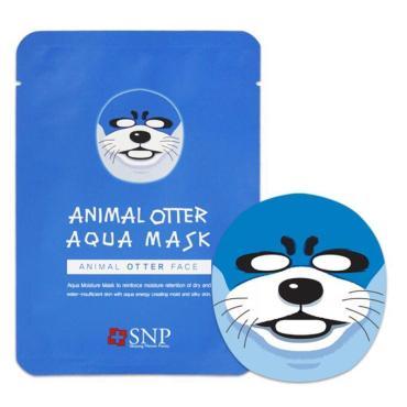 Маска тканевая для лица SNP Animal Otter Aqua Mask Увлажняющая