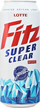 Пиво светлое пастеризованное фильтрованное Fitz Super Clear, 500 мл., жестяная банка