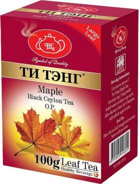 Чай Ти Тэнг Кленовый сироп черный