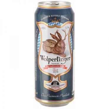Пиво Вольпертингер Традиционное светлое 5,1%