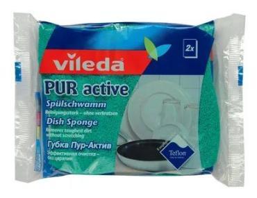 Губка для посуды Vileda Pur Active, 2шт