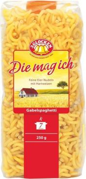 Макаронные изделия 3 Glocken Die mag ich Gabelspaghetti, 250 гр., пластиковый пакет