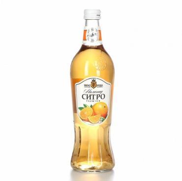 Лимонад Ситро, Вкус Года, 600 мл.,стекло