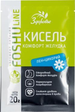 Кисель Здоровье Комфорт желудка лен-цикорий
