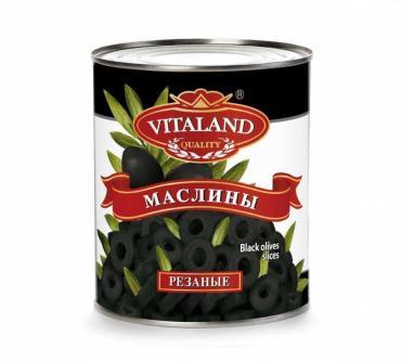 Маслины Vitaland резаные кольцами , Испания