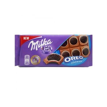 Шоколад Oreo Sandwich Chocolates, Milka, 92 гр., флоу-пак