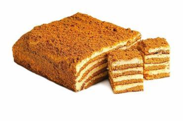 Торт Слоянка со вкусом мёда
