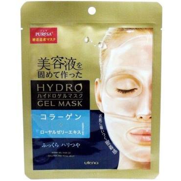 Маска для лица Utena Puresa увлажняющая гидрогелевая с коллагеном и маточным молочком