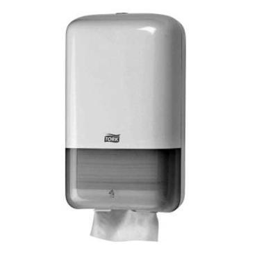 Диспенсер для листовой туалетной бумаги, белый, 1/12 Tork Elevation T3, 1,02 кг., картонная коробка
