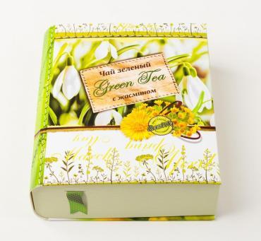 Чай черный Jarra Книга Времена года Весна