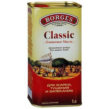 Масло оливковое, Borges, 1 л., жестяная банка