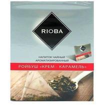 Чай Rioba Ройбуш Крем Карамель 20 пакетов