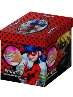 Печенье песочное с пожеланиями Lady Bug, 42 гр., картонная коробка