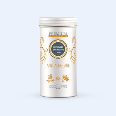 Фитопудра Premium для массажа тела лимфодренажная