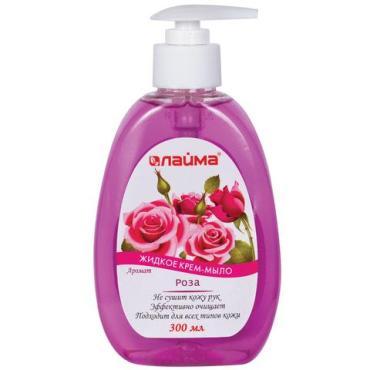 Крем-мыло жидкое Лайма Роза