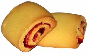 Печенье Сладкофф Мерибель сдобное с фруктовой начинкой Клюква