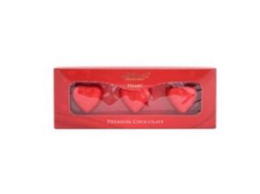 Конфеты шоколадные Bind Набор 3 сердца