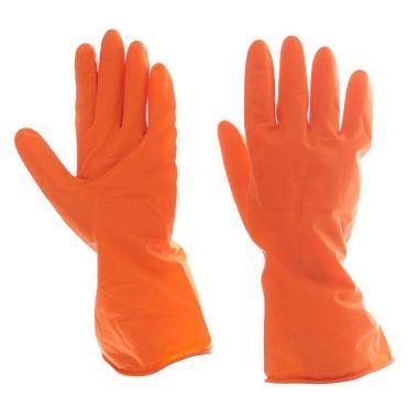 Перчатки Доляна хозяйственные латексные, размер XL, цвет микс