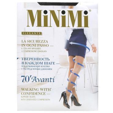 Колготки MiNiMi Avanti 70 Den new утяжка по ноге Nero 3
