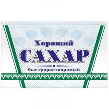 Сахар-рафинад Хороший, Русагро, 1 кг., Картонная коробка