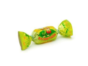 Карамель с ореховой начинкой Рахат Кузнечик, 1 кг., пластиковый пакет