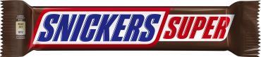 Батончик шоколадный Super,  Snickers, 95 гр., флоу-пак