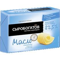 Масло сливочное Сыробогатов Традиционное 82.5%
