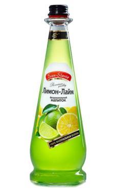 Лимонад San-Slavia с жасмином газированный