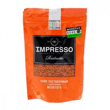 Кофе Impresso Ristretto, 100 гр., дой-пак