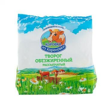 Творог обезжиренный 1,8 %,  200 гр.,  пластиковый пакет