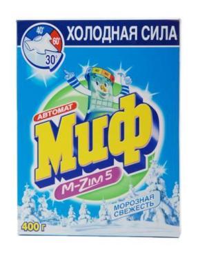 Стиральный порошок Миф Морозная свежесть автомат для всех видов тканей