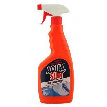 Моющее средство Aquasun Чистая ванна С триггером