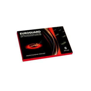 Средство для уничтожения тараканов Euroguard Ловушка 6шт.