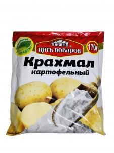 Крахмал картофельный Пять поваров, 170 гр., сашет