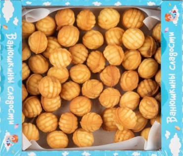 Печенье Ванюшкины сладости Орешки из детства сдобное с начинкой