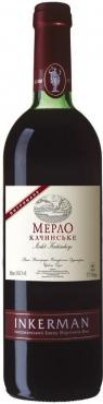 Вино Inkerman Мерло Качинское сухое красное