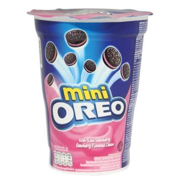 Печенье Oreo Mini с клубничным кремом