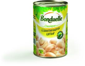 Шампиньоны целые, Bonduelle, 425 гр., жестяная банка