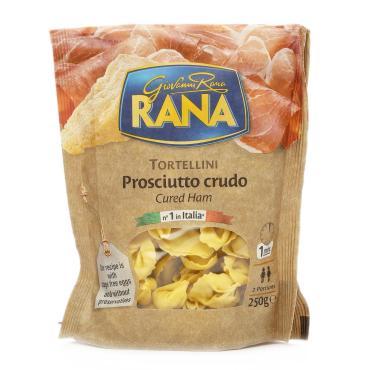 Полуфабрикат Rana Tortellini с сыровяленой ветчиной и твердым сыром, 250 гр., флоу-пак