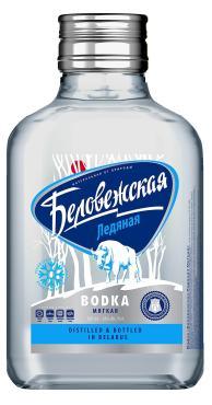 Водка Беловежская ледяная