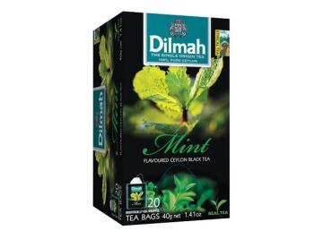 Чай Dilmah Мята черный 25 пакетиков