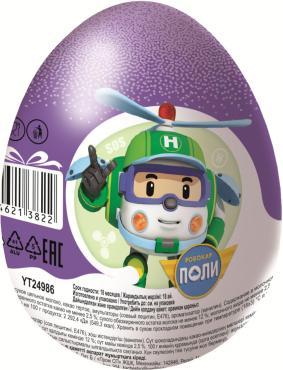Яйцо Конфитрейд Шоки-Токи Робокар Поли шоколадное с игрушкой